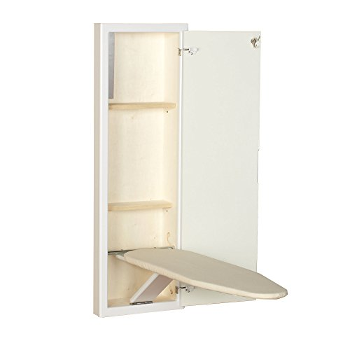 Household Essentials Stowaway Cabinet with White Finish