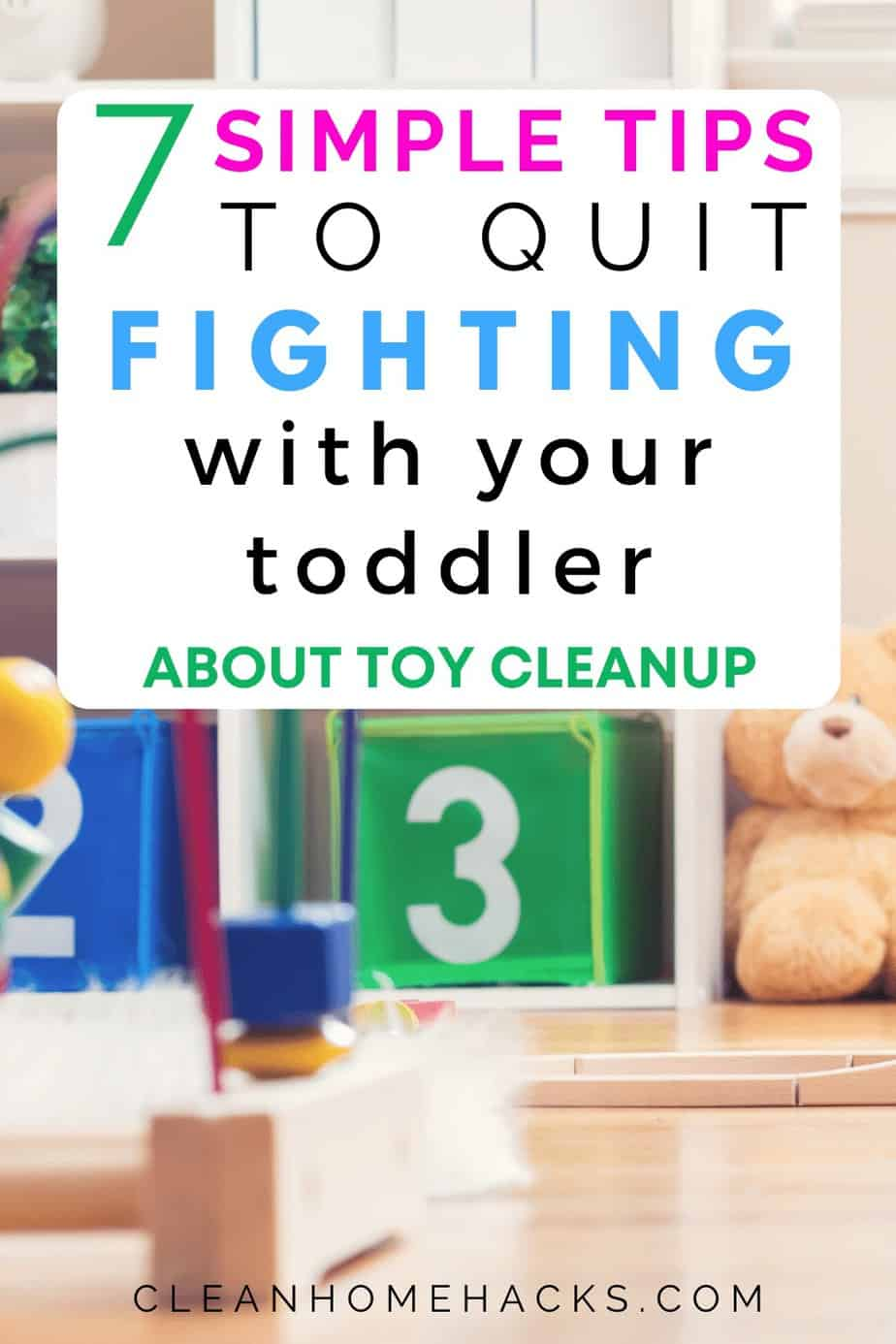 childrens playing blocks on pinterest image to post 7 simple tips to stop fighting with your toddler about toy cleanup