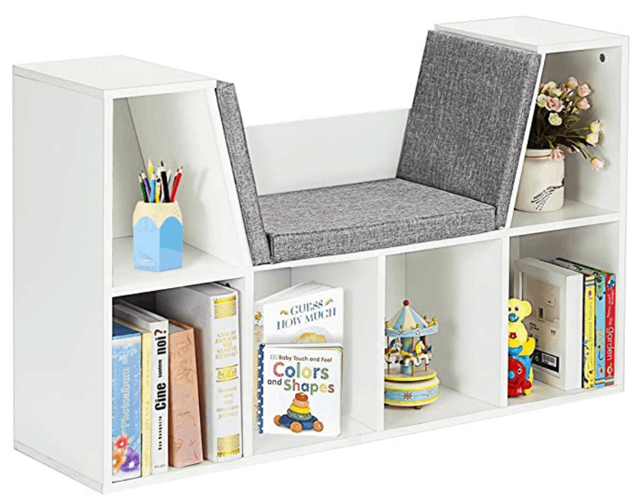 6 cubby storage image from Amazon