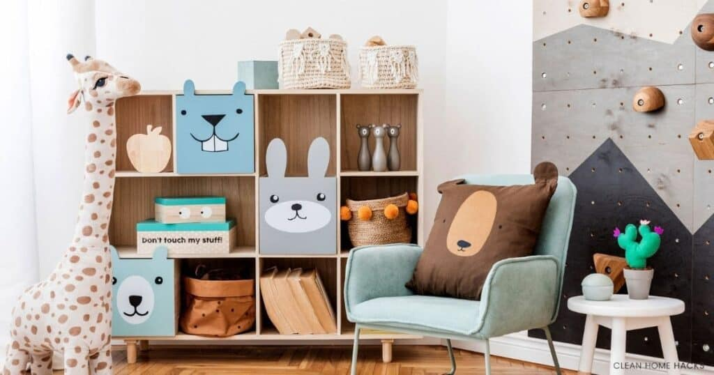 stylish childs room toy organizer for best way to organize toys